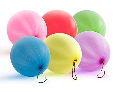 Ball Party Favors - Giraffe - Neon Punch Balloons - (30 Count)