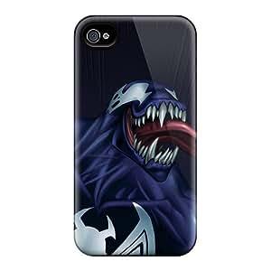 Shock-Absorbing Hard Phone Case For Iphone 6plus (FAv1456WInC) Unique Design Colorful Venom Image