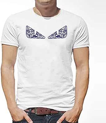 ATIQ T-Shirt for Men - Monster Navy Eyes
