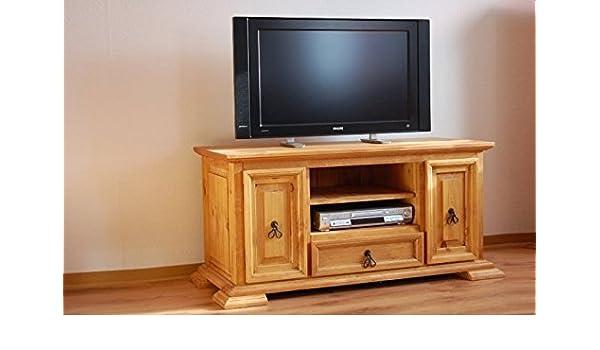 TV-muebles de madera maciza de pino El Paso para muebles TV mueble para TV-Banco: Amazon.es: Hogar