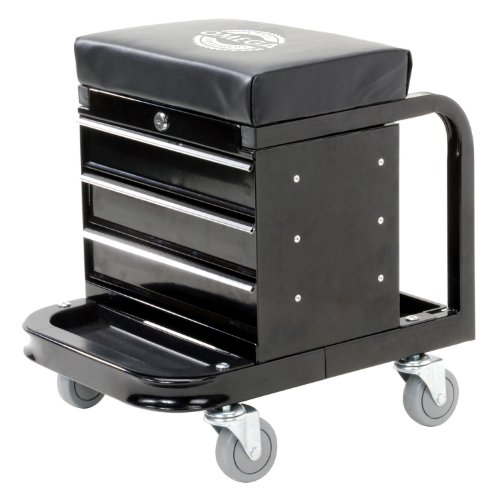 Omega 92450 Black Tool Box Creeper (Tool Cart With Wheels compare prices)
