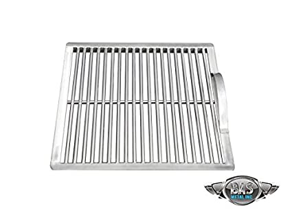 amazon com stainless steel charcoal grate 15 x 15 grill grates