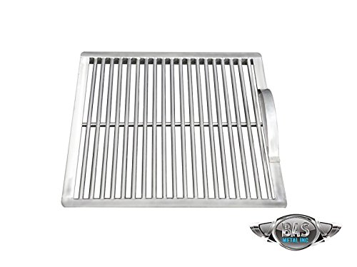 """Stainless Steel Charcoal Grate 15"""" x 15"""" (Grill Grates, Stainless Steel Grill Grates, BBQ Grates, Custom Grill Grates, Cooking Grate, Barbecue (Custom Grill Grates)"""