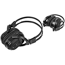 1 Pack Wireless Two Channel Folding Universal Rear Entertainment System Infrared Headphone IR DVD Player Head Phones for in Car TV Video Audio Listening