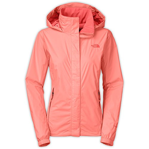 The North Face Women's Resolve Jacket Neon Peach (Small)