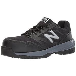 New Balance Men's 589V1 Work Training Shoe, Black/Grey, 13 2E US