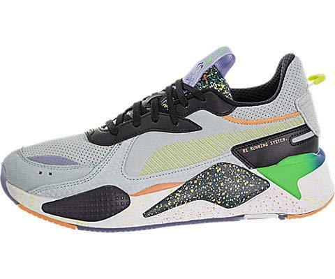 PUMA Select Men's RS-X FD Sneakers, Fair Aqua/Ponderosa Pine, Blue, Green, 9.5 Medium US (Transformers Tennis Shoes)