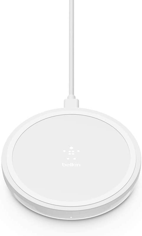 Belkin Wireless Charger 10W – Boost Up Wireless Charging Pad, Wireless Charger for iPhone 11, 11 Pro, 11 Pro Max, XS, XS Max, XR, X, 8, 8 Plus/Samsung Galaxy S10, Note10 and More