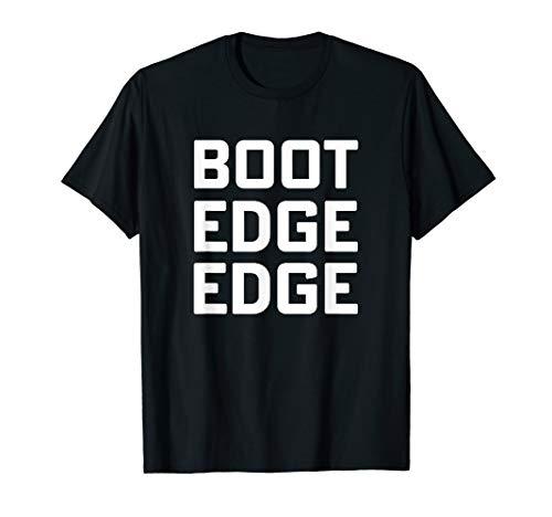 A T-shirt Boot - Boot edge edge T-shirt