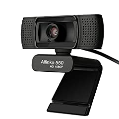 2019 New Design True 1080P Full HD Webcam The webcam offers Full HD 1080p video that's faster, smoother and works on more computers. 1. Device Type: Web camera  2. Audio Support: Yes, built-in stereo microphone  3. Connectivity Technology: Wi...