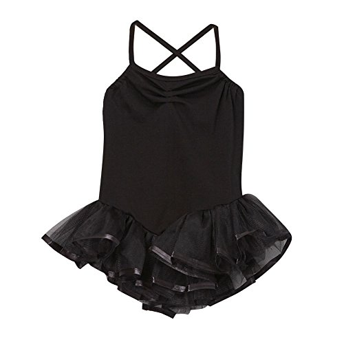 Girls (Black Ballerina Halloween Costume)