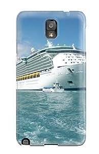 TERRI L COX's Shop 3161221K74847512 Tough Galaxy Case Cover/ Case For Galaxy Note 3(world Expensive Royal Caribbean Ship)