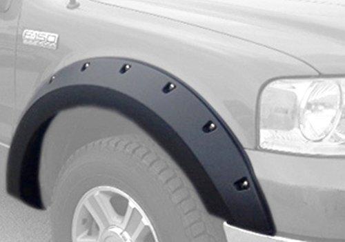 - Ford F150 Large Pocket / Rivet Style Fender Flares. Set of 4