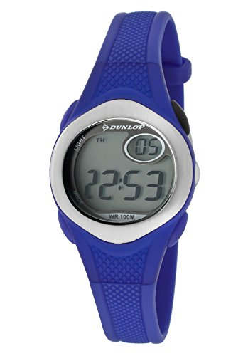 Dunlop Reloj Digital para Mujer de Automático con Correa en Resina DUN177L03: Amazon.es: Relojes