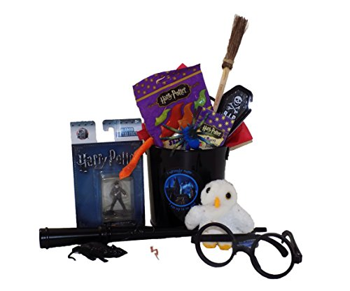 Harry Potter 'I Solemnly Swear I Am up to No Good' Candy and Toy Gift Basket -