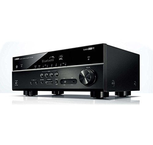 yamaha bundle rx v483 5 1 channel a v receiver wx 010. Black Bedroom Furniture Sets. Home Design Ideas