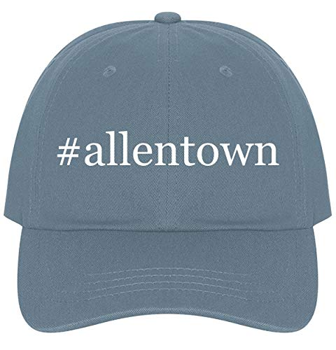 The Town Butler #Allentown - A Nice Comfortable Adjustable Hashtag Dad Hat Cap, Light Blue