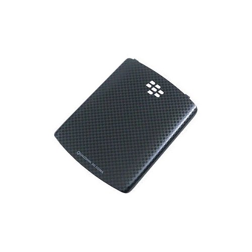 OEM BlackBerry Curve 3G, Curve 8530, 8520 Battery Door / Cover - Black Checker Mobile Phone Accessories