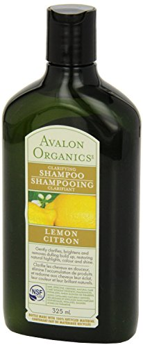 Avalon Organics Lemon Clarifying Shampoo, 11 Ounce - 6 per case.
