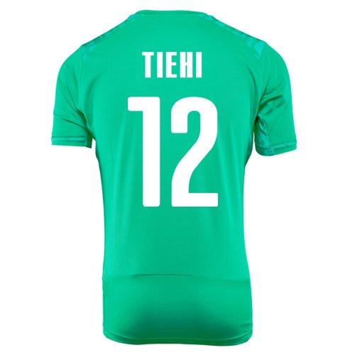 穏やかな仮定、想定。推測価値のないPUMA TIEHI #12 IVORY COAST AWAY JERSEY WORLD CUP 2014/サッカーユニフォーム コートジボワール アウェイ用 ワールドカップ2014 背番号12 ティヒ
