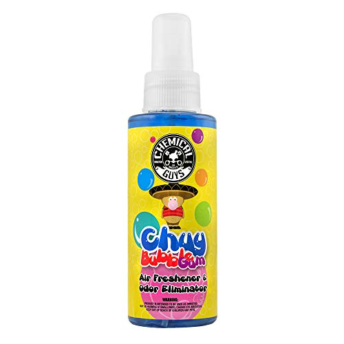 (Chemical Guys AIR_221_04 Premium Air Freshener and Odor Eliminator with Chuy Bubble Gum Scent (4 oz) )