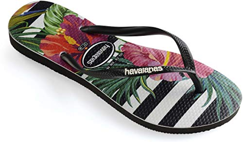 Havaianas Tropical Slim Chanclas Black W imperial zg6zwq