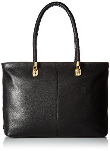 Cole Haan Benson Large Top Zip Tote, Black