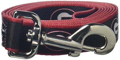 NCAA Georgia Bulldogs Dog Leash, Medium/Large  - New Design