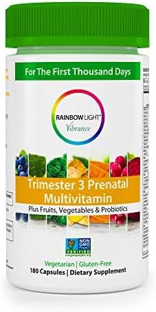 Multivitamins: Rainbow Light Trimester 3 Prenatal