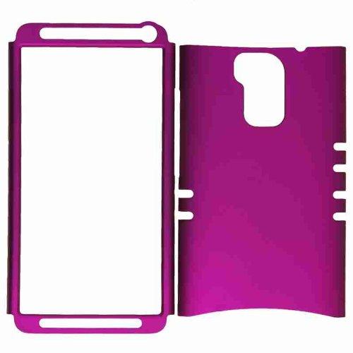 Price comparison product image (HTC One Max) (Rocker Series Kool Kase) Hybrid Heavy Duty Case Rubberized Dark Purple