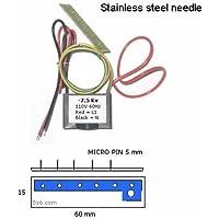 110VAC Negative Ion Generator w 5 Pin Stainless Steel Needle 7.5Kv