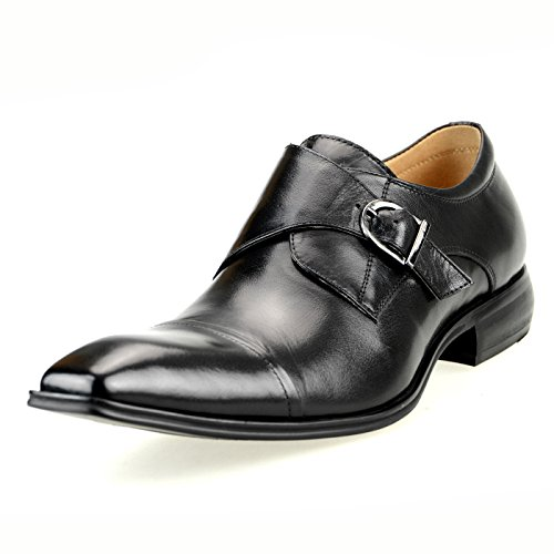 信じる一握り報奨金[ルシウス] LUCIUS 本革 20種類から選ぶ レザー メンズ ダブル モンクストラップ メダリオン ストレートチップ 革靴 紳士靴