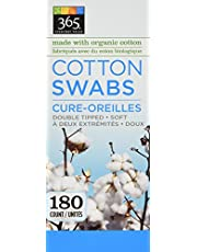 365 Everyday Value Cotton Swabs, 180 Count