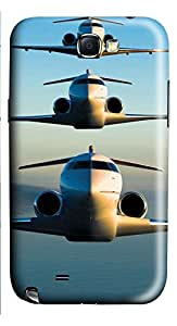 Samsung Note 2 Case Bombardier Express 3D Custom Samsung Note 2 Case Cover