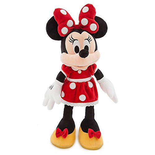 Disney Minnie Mouse Plush - Red - Medium ()