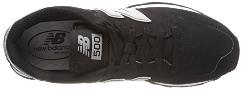 New black 500 Balance Sportive Nero Black Scarpe Uomo grey grey wqwrO
