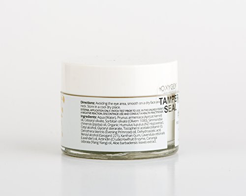 Oxygen Skincare Natural Hydrating Night Creme