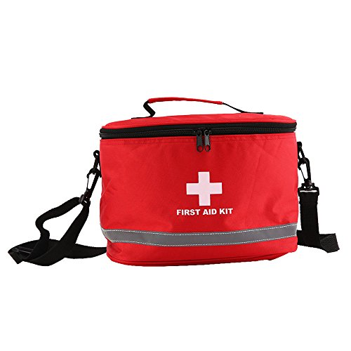 Outdoor Wilderness Survival Travel First Aid Kit Camping Hiking Medical Emergency by Isguin