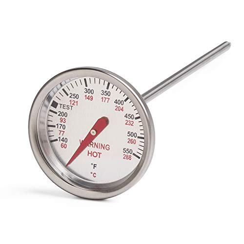 GASPRO 9815 Replacement Thermometer, Heat Indicator Replacement Part for 62538 for weber Genesis Silver B, Genesis Silver C,Genesis Gold B & C, Genesis 1000-5500, Master-Touch and all Performer Grills