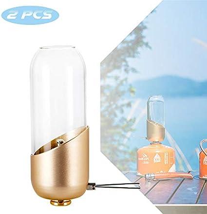 EnweLampi Mini De Gas Linterna para Acampar, Atenuación Aire ...