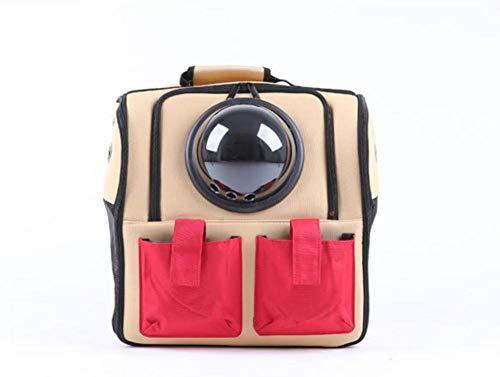 QKEMM Hundetasche Hundetragetasche Katzentragetasche Transporttasche Auto Gehen Tragbare Reiseartikel aus Transportbox…