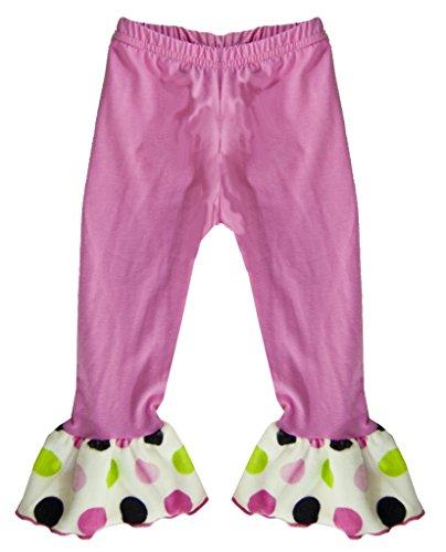 Minky Ruffle Pants - 9