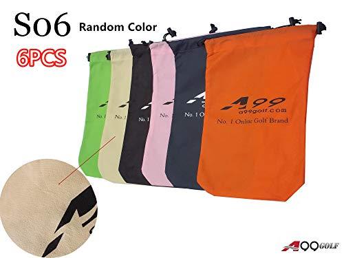 A99 Golf S06 Shoes Bag Nonwoven Fabric Tote Bag/Pouch 6 Pcs(Random Color)