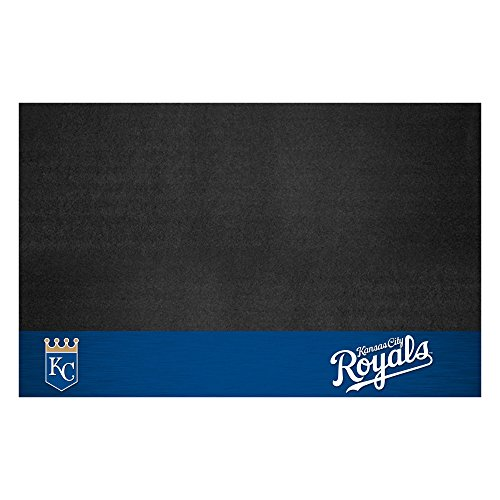 Fanmats 12156 MLB Kansas City Royals Vinyl Grill Mat