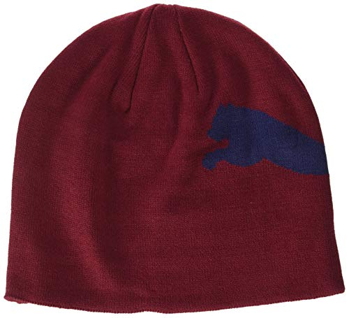 Puma Pomegranate Big ESS Unisex Cat Adulto Beanie qwxZq4rp6