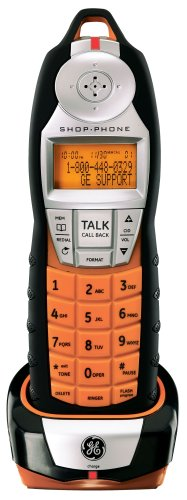 Remote Jack Shop Phone (GE Shop 27940DC1 Phone with Rubberized Finish and CID)