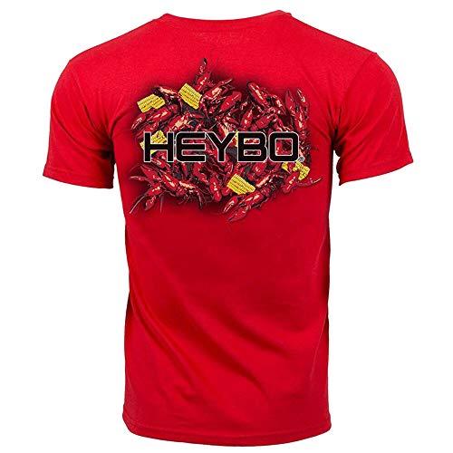Heybo Crawfish Boil S/S Red T-Shirt (XXX-Large) ()