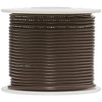 """26 AWG Gauge Stranded Hook Up Wire Black 25 ft 0.0190/"""" UL1007 300 Volts"""