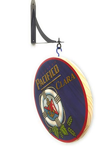 """Used, Pacifico Clara 12"""" Double Sided Pub Sign for sale  Delivered anywhere in USA"""