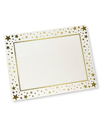 Foil certificate paper compare prices at nextag gartner gold stars foil certificate paper 15 ct yadclub Choice Image